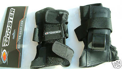 BOOSTER Sz MEDIUM SNOWBOARD IMPACT DOUBLE PROTECTION WRIST GUARDS SNOWBOARDING