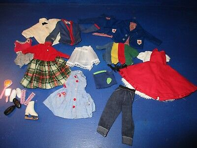 Ideal Tammy Doll Lot of Clothes & Accessories Good Condition