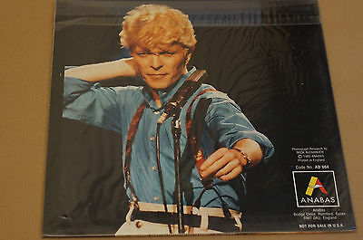 David Bowie Anabas 6 Large Colour Photos on Cards Unused Order Opened MINT Photo