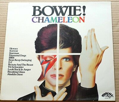 """Rare David Bowie Chameleon 12"""" 33RPM by Starcall  12 Track STAR 101 New Zealand"""