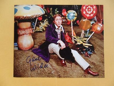 Gene Wilder 8x10 Autographed 'Willy Wonka & the Chocolate Factory' Photo
