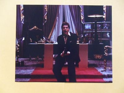 Al Pacino 8x10 Autographed 'Scarface' Photo