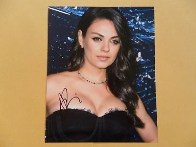 Mila Kunis 8x10 Autographed 'Great' Photo