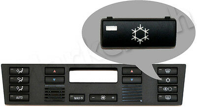 New BMW 5/X5 E39/E53 Heater Climate Control Button: A/C Aircon On/Off Snowflake