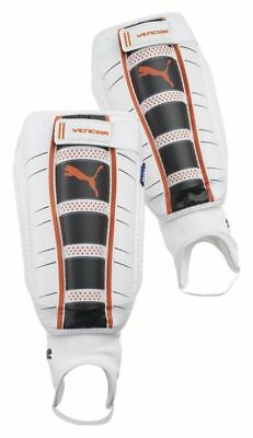 Puma Schienbeinschoner Vencida white-dark navy-team orange 30366-10 S - XXL