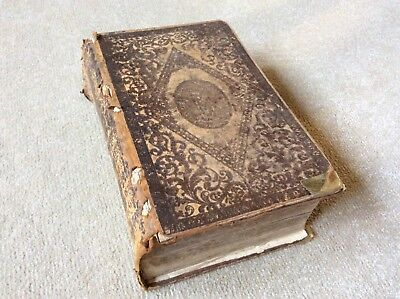 Old Leather Bound Bible Circa 1833