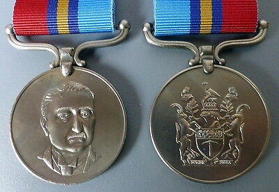 Rhodesia General Service Medal Woman Police Officer Wpo Female Rhodesian Africa
