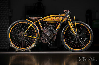 1914 Custom Built Motorcycles Cyclone Board Track Racer  Board track racer indian cyclone antique vintage