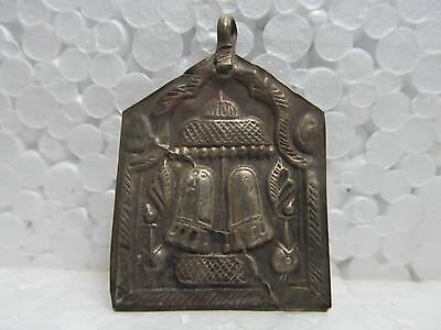 Rare Old Vintage Tribal God Goddess South Indian Solid Copper Amulet Pendant 217
