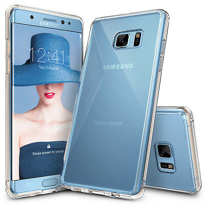 Galaxy Note FE Case, Ringke [FUSION] Shockproof Protective Crystal Clear Cover