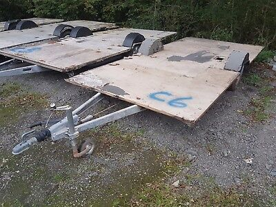 (C6) Alko Galvanised Caravan Chassis Car Boat Advertising Trailer