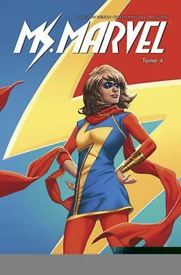MARVEL - Ms Marvel - Super célèbre - tome 4 - panini comics