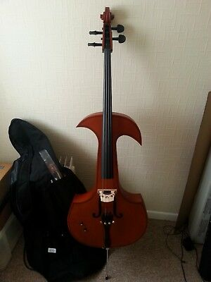 4 strings electric cello & acoustic cello 4/4