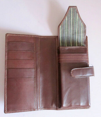 Leather Conway Stewart 3 fountain pen case