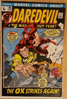 DAREDEVIL # 86, #87 and # 88 ( 1st Series- Pence copies  - 1972) 3 issue run