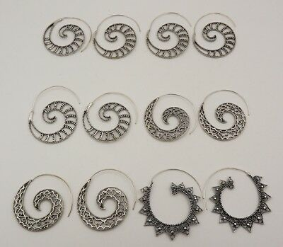 6Pcs. Lot Very Beautiful 925 Silver Plated Top Amazing Lovely Earring KA10268