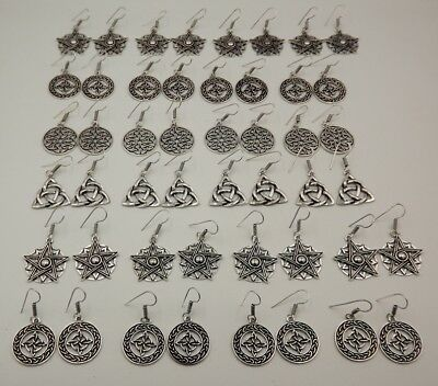 24 Pcs. Lot Alluring 925 Silver Overlay Wonderful Unique Earring KA9844