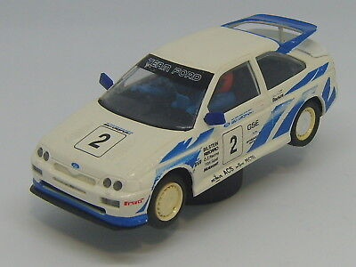 Scalextric  BTCC Ford Escort Cosworth Slot Car C203 With Lights 1:32 Scale