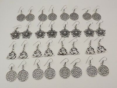 16Pcs. Lot Top Amazing 925 Silver Overlay Very Beautiful Designer Earring KA9854