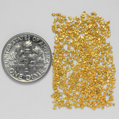 0.6446 Gram Alaskan Natural Gold Nuggets - (#20921) - Hand-Picked Quality