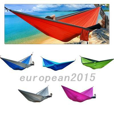Travel Camping Outdoor Hammock Parachute Sleep For Double Person UK