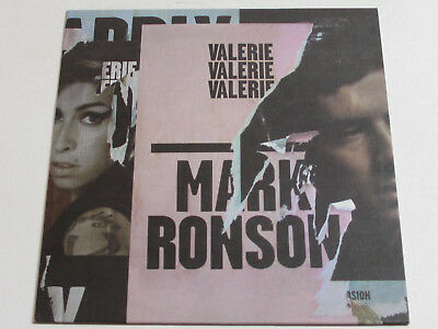 "Mark Ronson feat. Amy Winehouse ‎– Valerie 10"", 45 RPM, Single, Limited Edition"