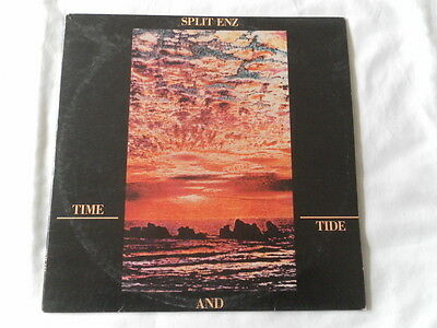 "SPLIT ENZ  "" TIME AND TIDE ""  1982 ORIGINAL NEW WAVE VINYL ALBUM Nr MINT"