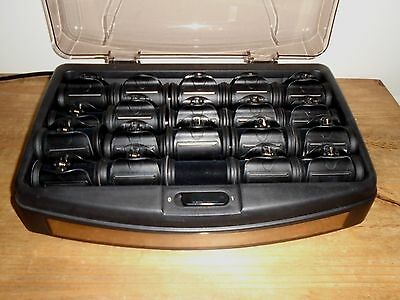 Enrapture Heated Hair Rollers x 20 - Excellent working Condition