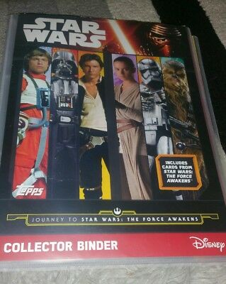 star wars. complete card set. 207 cards. Includes rare limited edition