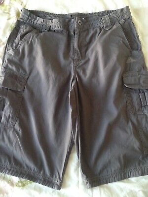 Men's Adidas combat cargo green shorts. Large. Used