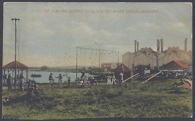 Victoria Falls & Transvaal Power Coy Early 1900's Postcard of Germiston Plant