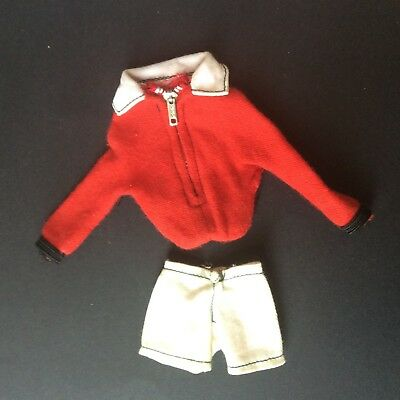 Sindy doll 1967 Carefree Camping 12S22 Jacket + Shorts vintage dolls clothes