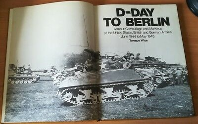 "libro ilustrado ""D-Day to Berlín"", Terence Wise"