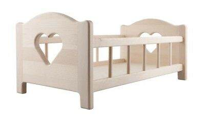 Doll's Wooden Bed