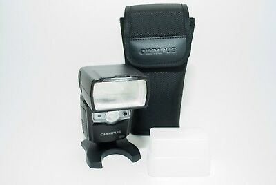 Olympus FL 600R Shoe Mount Flash for For Olympus with Stofen Omniboucne Diffuser