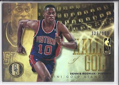 2012-13 Gold Standard Hall of Gold Dennis Rodman /199