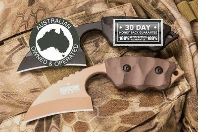 Hardcore Hardware knife military Real Army Combat MADE IN AUSTRALIAN LFK-01G D