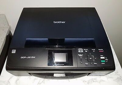 Brother DCP-J315W Wireless All-in-One Inkjet Printer
