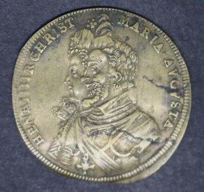 Germany Henri Iv And Marie Token