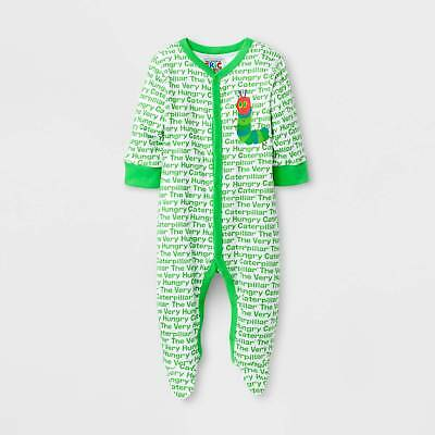 Baby Boys' Eric Carle® Footed Sleeper - Green
