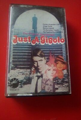 Cassette Tape of Just  a Gigolo starring David Bowie 1978