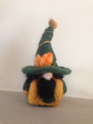 """Autumn"" The Needle Felted Wizard"