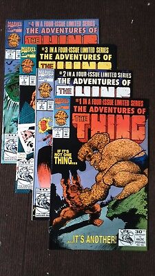 The Adventures of THE THING 1/4 - Miniserie completa - Marvel Comics USA - VF/NM