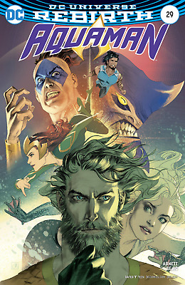 Aquaman #29 Variant Joshua Middleton Rebirth Dc Comics Nm - 2017