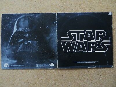 STAR WARS 1977 ORIGINAL SOUNDTRACK DOUBLE VINYL LP  collectable memorabilia