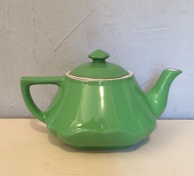 Vintage Hall Baltimore Teapot in apple green