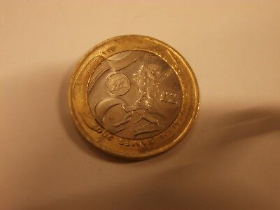 £2 coin commonwealth games 2002 Wales circulated