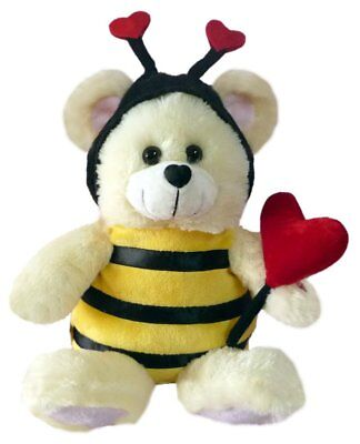 """Chantilly Lane """"Bee Mine"""" Bear Sings """"How Sweet It Is To Be Loved by You"""" Plush,"""