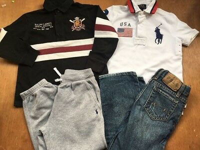 5years Ralph Lauren Designer Bundle Tracksuit Bottoms Tops Jeans