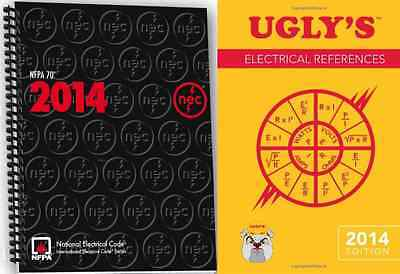 NFPA 70:National Electrical Code (NEC) Spiralbound & Ugly's Electrical Ref, 2014